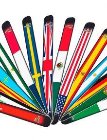Protectores banderas países y comunidades