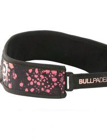 Visera Bullpadel Negra-Rosa
