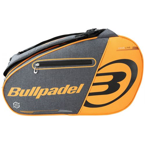 Paletero Bullpadel Tourline Naranja Fluor 21