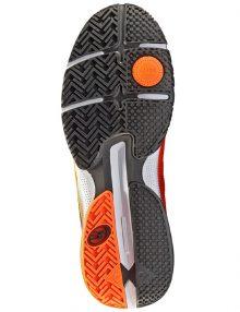 Zapatilla Vertex Hybrid Fly Naranja y negro
