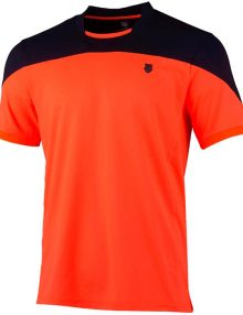 Camiseta K-Swiss Hypercourt Orange