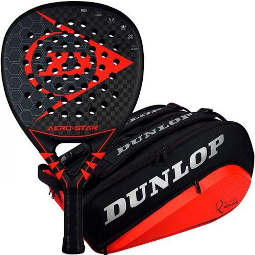 Pala Dunlop Aero Star + Paletero