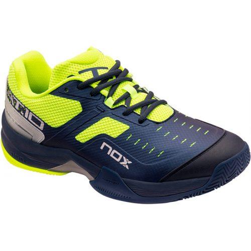 Zapatillas NOX AT10 Azules-Amarillas 2021