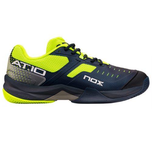 Zapatillas NOX AT10 Azules-Amarillas