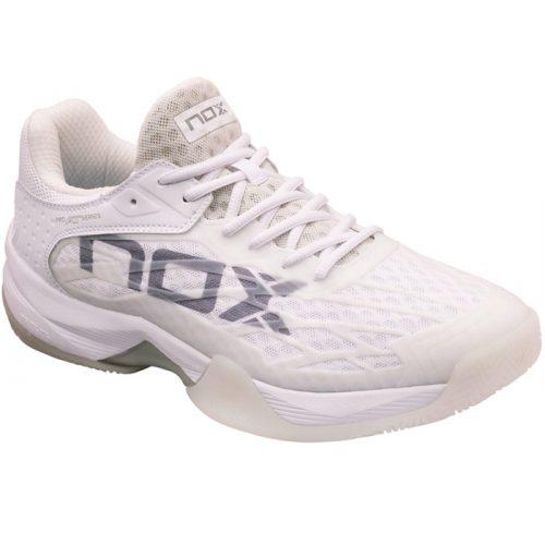 Zapatillas NOX AT10 Lux Blancas-Grises 21
