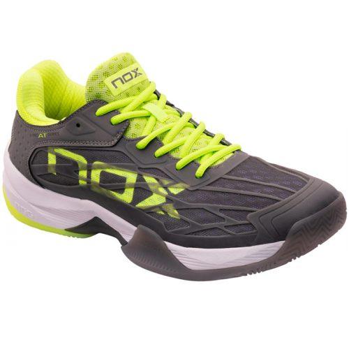 Zapatillas NOX AT10 Lux Grises-Amarillas 21
