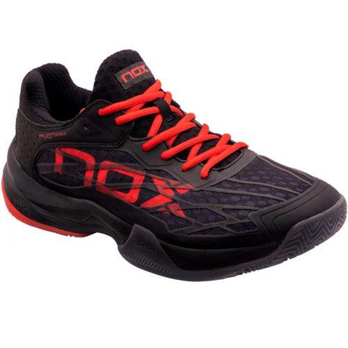 Zapatillas NOX AT10 Lux Negras-Rojas 2021