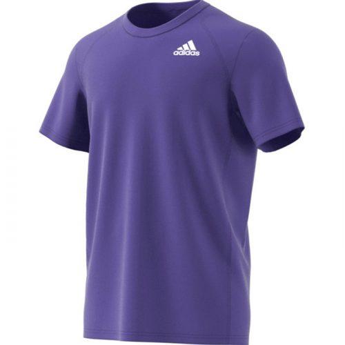 camiseta adidas club morada