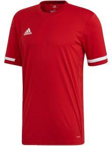 camiseta adidas team roja