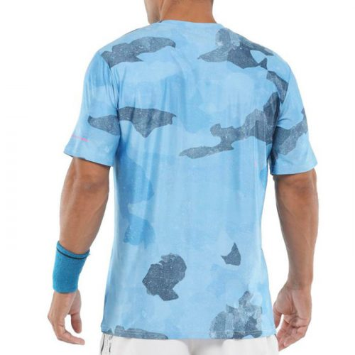 camiseta bullpadel mesay azul