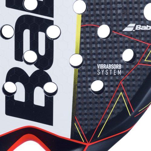 pala babolat technical veron closeup