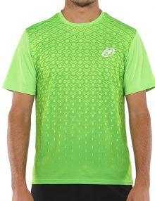 camiseta cartama verde acido