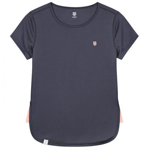camiseta kswiss hypercourt gris