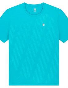 camiseta kswiss hypercourt shield azul