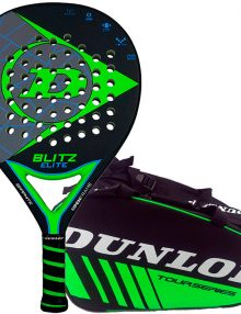 Pala Dunlop Blitz Elite + Paletero