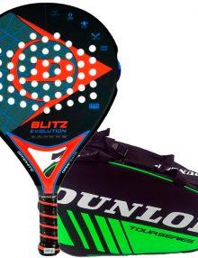 Pala Dunlop Blitz Evolution Naranja + Paletero