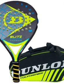 Pala Dunlop Blitz Evolution + Paletero