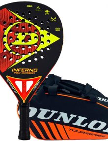 Pala Dunlop Inferno Pro Carbon + Paletero