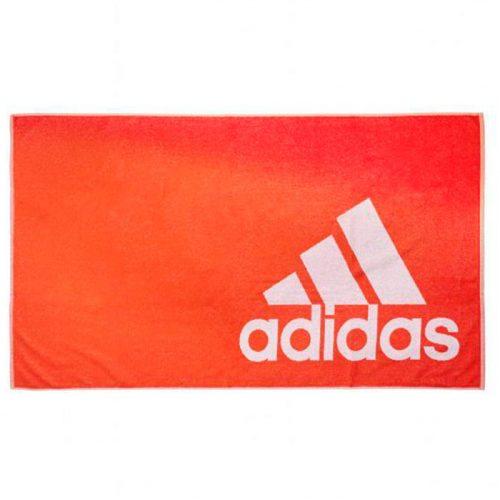toalla adidas grande naranja entera
