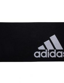 toalla adidas grande negra entera
