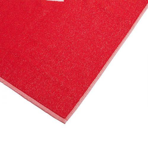 toalla adidas grande roja