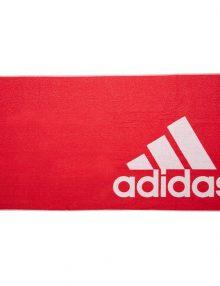 toalla adidas grande roja entera