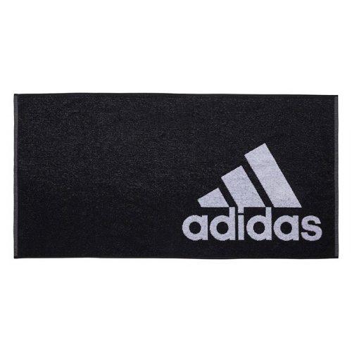 toalla adidas negra entera