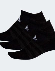 Calcetines Adidas Negros Tobilleros-Ocultos-Pack 3