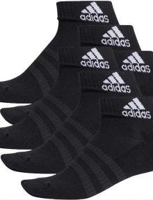 Calcetines Adidas Negros Tobilleros-Pack 6