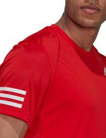 camiseta adidas club roja