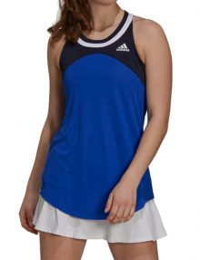 camiseta adidas club tank navy blue