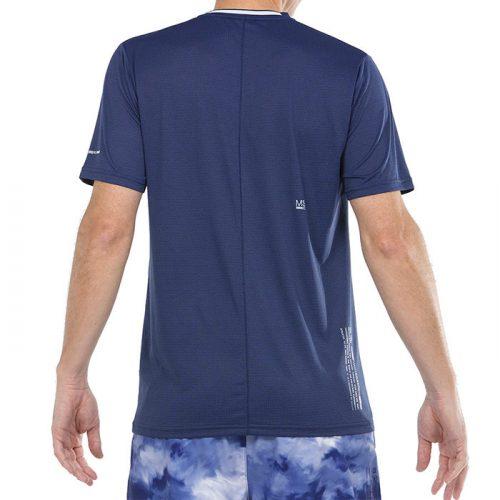 camiseta bullpadel micay azul tinta