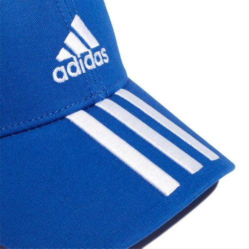 gorra adidas baseball navy blue closeup