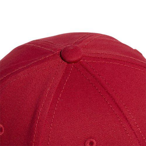 gorra adidas baseball red closeup