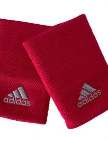 Muñequeras Adidas Rojas