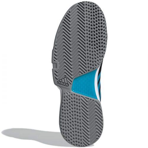 zapatillas adidas courtjam bounce black suela