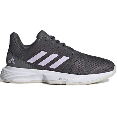 zapatilla adidas courtjam bounce woman grises