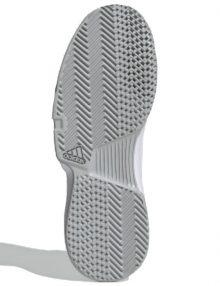 zapatillas adidas gamecourt m blancas suela