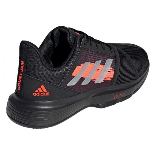 zapatillas adidas courtjam bounce clay black