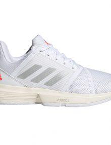 zapatillas adidas courtjam bounce woman blancas 2021