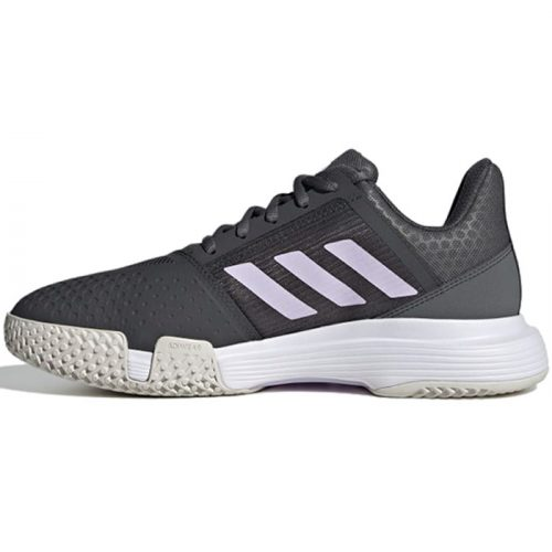 zapatilla adidas courtjam bounce woman grises 21