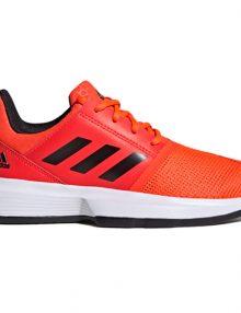 zapatillas adidas courtjam xj naranja