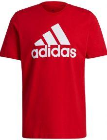 camiseta adidas essentials roja