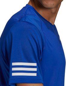 camiseta adidas club stripes blue 21
