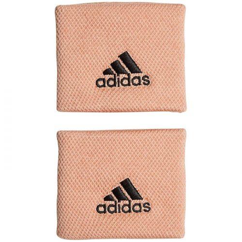 muñequeras adidas pequeñas rosa claro