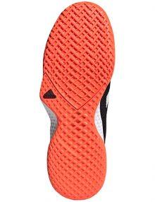 zapatillas adidas court control negro suela