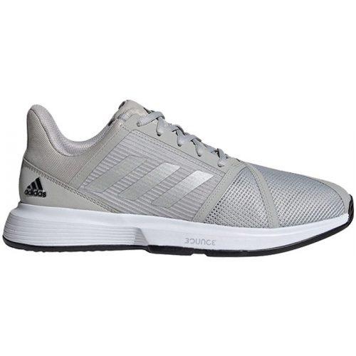 zapatillas adidas courtjam bounce plata
