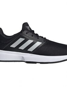 zapatillas adidas gamecourt m negras