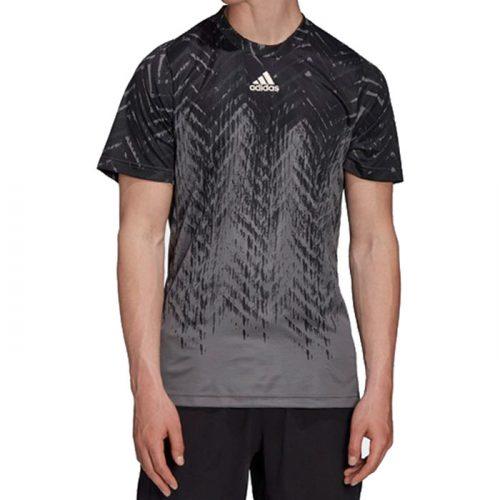 camiseta adidas freelift gris 2021