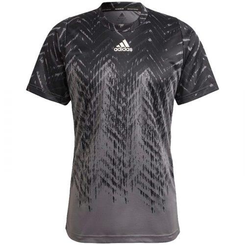camiseta adidas freelift gris
